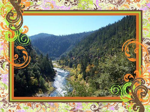 Rogue River flourish