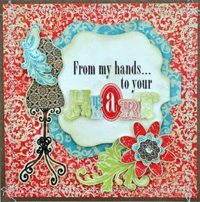 Hand Heart Card
