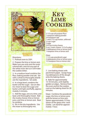 Key Lime Cookieslores