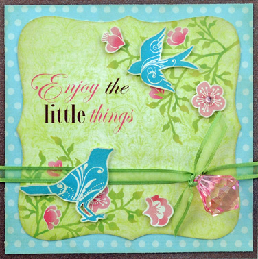 Enjoy things card