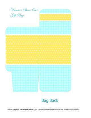 Gift Bag Back