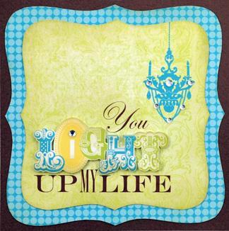 Light My Life Card