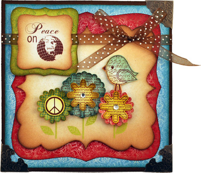 Darcies Peace Bird Card