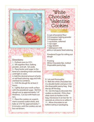 Darcies Valentine Cookies