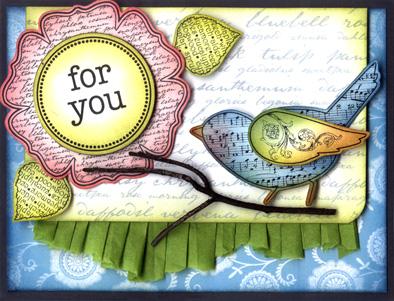 For You Garden Bird Crd