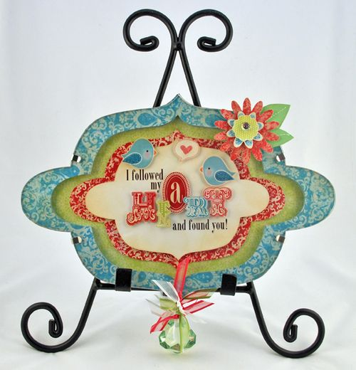 Bella Love Bird Frame