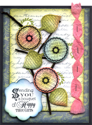 Branch Bouquet Card