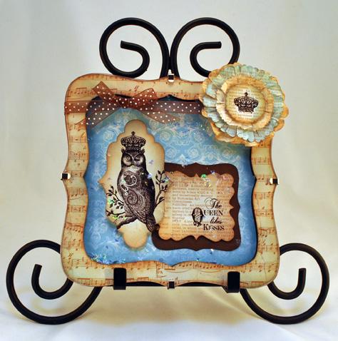 Owl Acrylic Frame