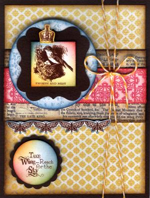 Queen Phoebe Card