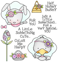 Darcies Honey Bunny Stamps